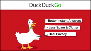 DuckDuckGo: Better Instant Answers, Less Spam & Clutter, Real Privacy